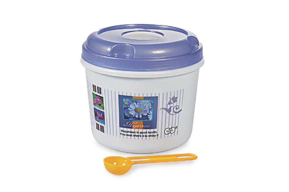 FIT TIGHT CONTAINER WITH SPOON