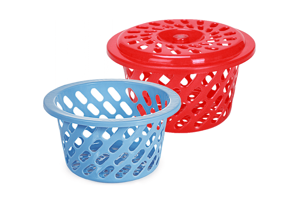LOVELY BASKET WITH LID AND WITHOUT LID