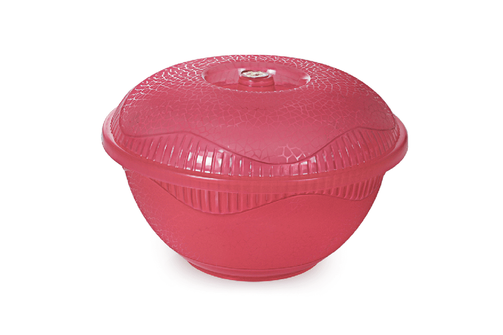 SALONI BOWL WITH LID
