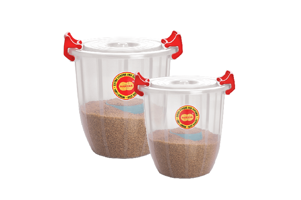 TURBO BUCKET WITH LID(TRANSPARENT)
